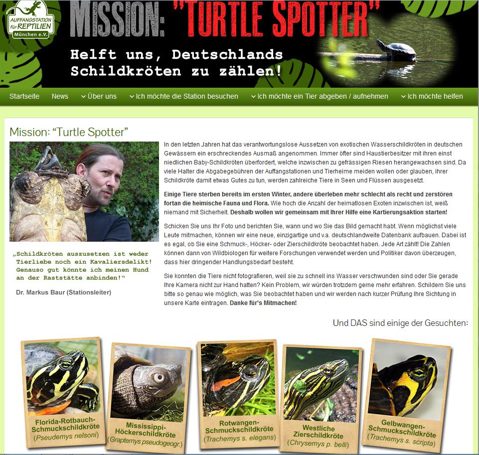 Projekt: Turtle Spotter