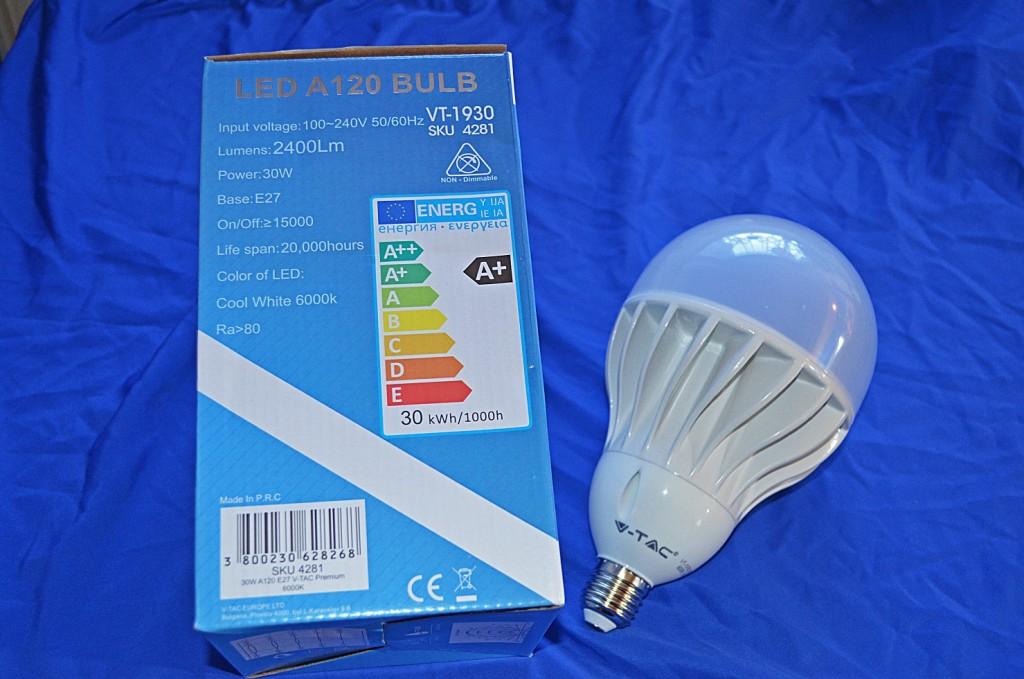 Abb. 1 LED-Leuchtmittel Auswahl