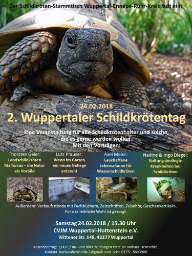 2. Schildkrötentag in Wuppertal- Barbara Hentschke gibt Auskunft
