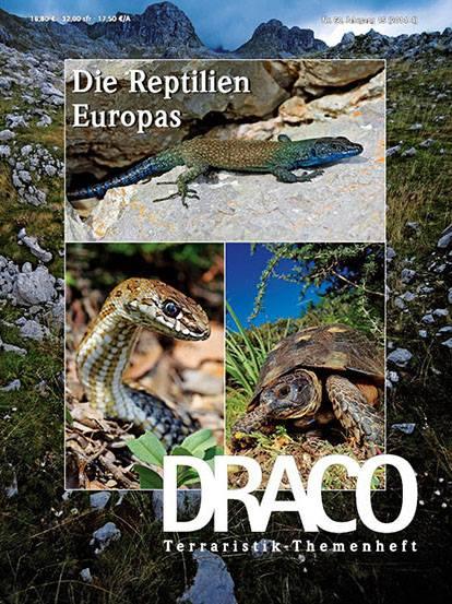 Die Reptilien Europas - Draco Themenheft jetzt erschienen