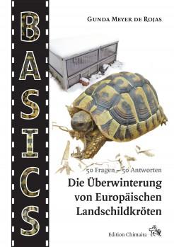 Verlagsankündigung: Die Überwinterung von Europäischen Landschildkröten. 50 Fragen – 50 Antworten