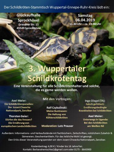Das Programm vom 3. Wuppertaler Schildkrötentag