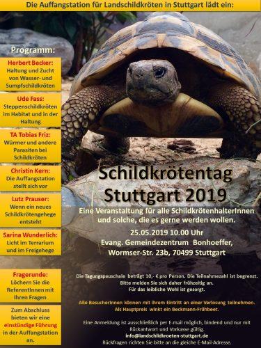Das Programm vom Stuttgarter Schildkrötentags