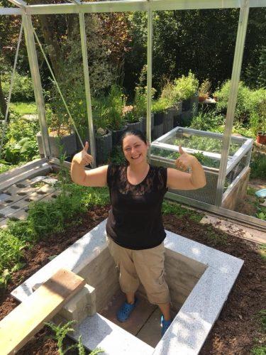Bau einer neuen Überwinterungsgrube - Ein Bildbericht (Teil 2)