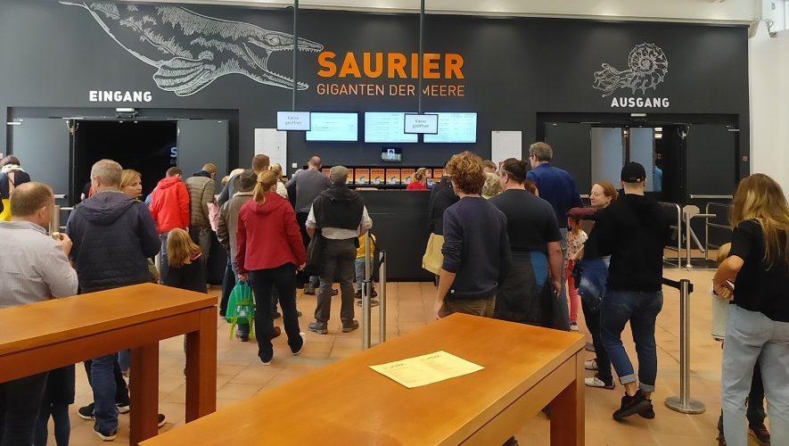 Ausflugtipp: Saurier - Giganten der Meere. Im Rosenheimer Lokschuppen