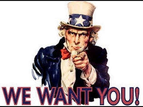 We want you - for TESTUDOWELT